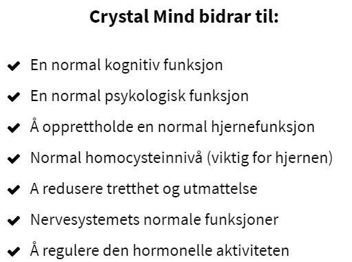 Crystal Mind bidrar til